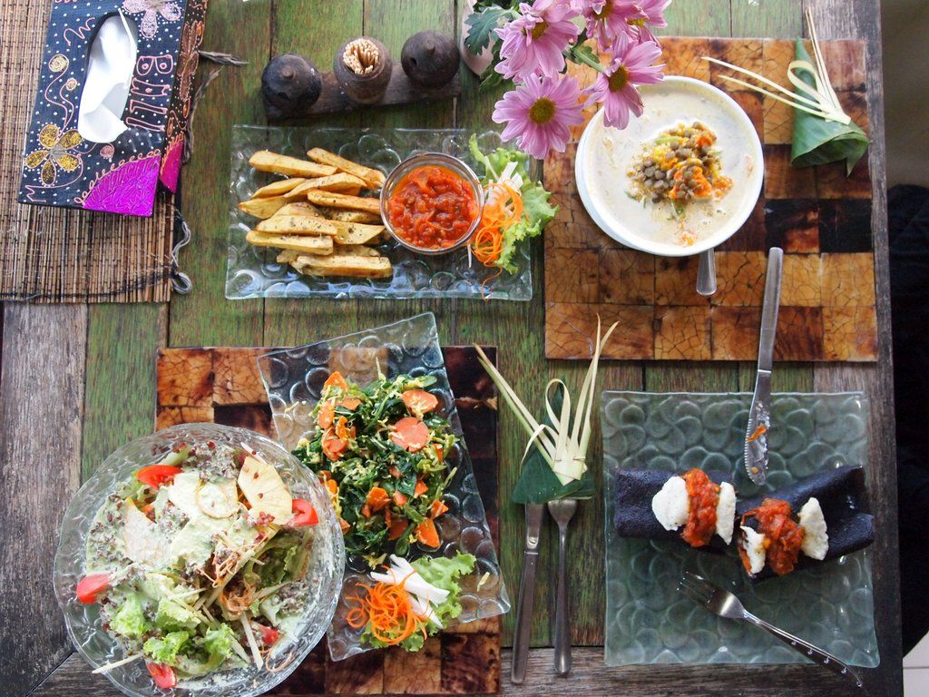 The five best places to eat in Ubud Voedsel ideeën