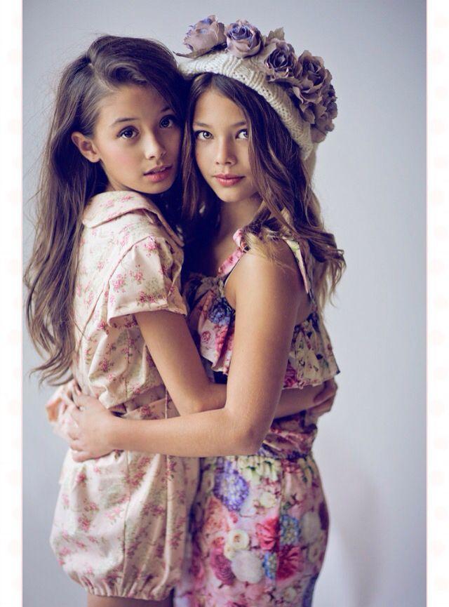 Adorable little girls mini-mode.com #minimode