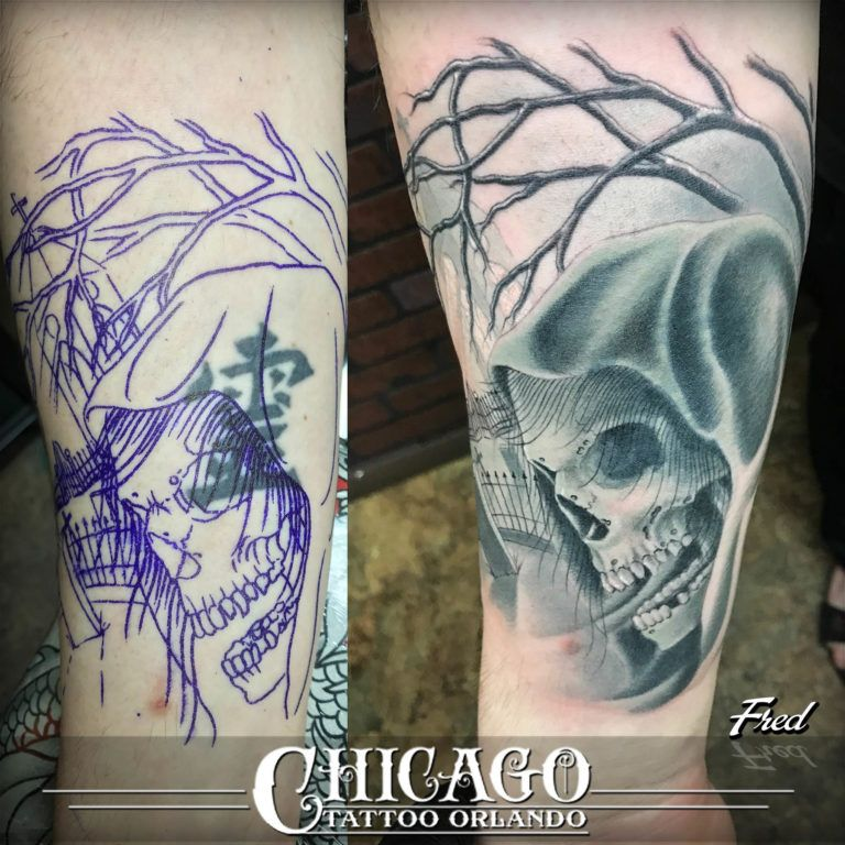 Black and grey tattoos chicago tattoo co