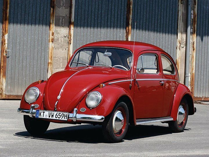 Ruby Red Vw Beetle Hot Cars