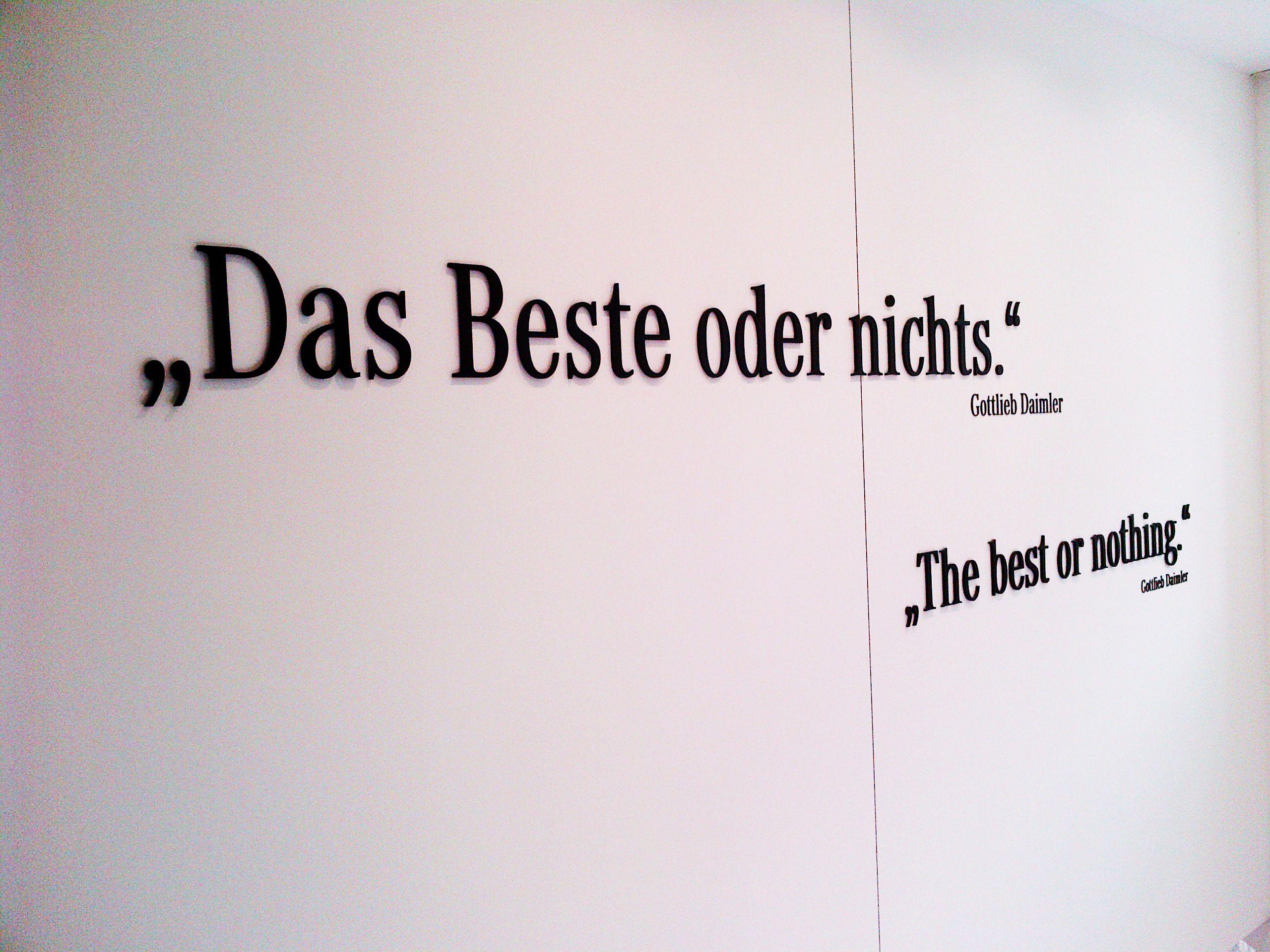 Das Beste Oder Nichts Images Words Gottlieb Daimler Mercedes