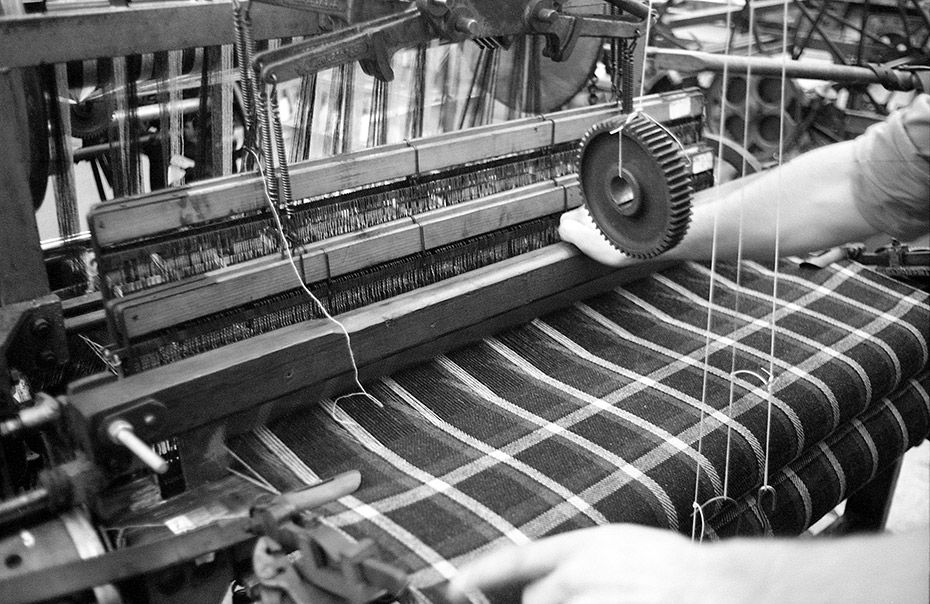 Betty Wood talks to East London's only micro-miller, Daniel Harris of London Cloth, who's traditional methodology is reinvigorating a dying industry on an individual level    Photography Liz Seabrook