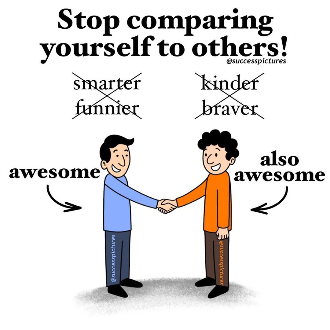 Do you focus on yourself or do you compare yourself to
