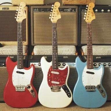 Fender - 1964 Musicmaster II, Duo-Sonic II, Musicmaster II