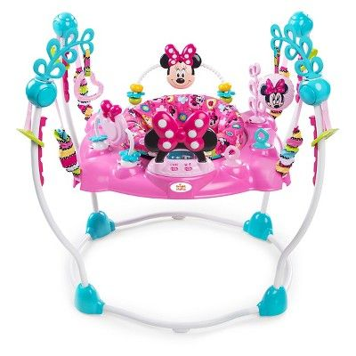 15b4e338b Disney Baby Minnie Mouse PeekABoo Activity Jumper