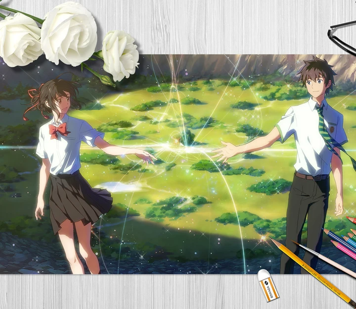 3D Your Name 4219 Anime Desk Mat - YY Anime