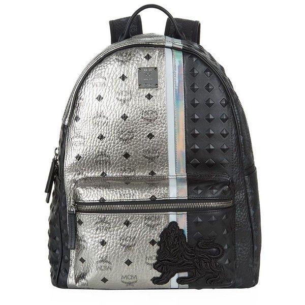 MCM Medium Munich Lion Backpack ( 1 59318a3bae