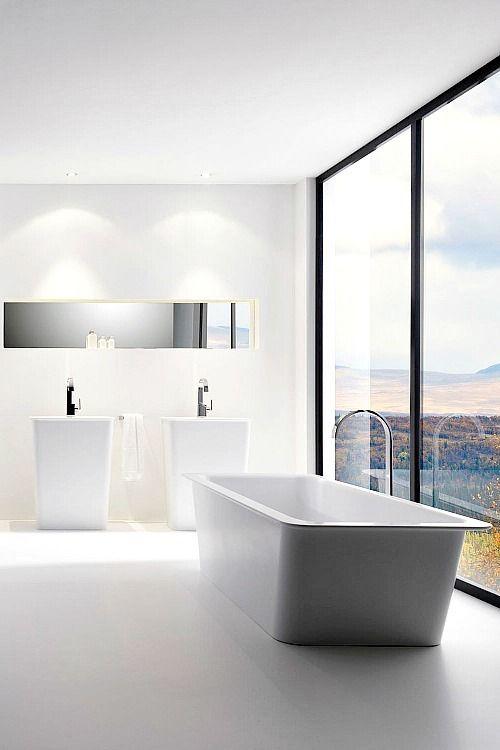 modern white bathroom ideas. Fine Ideas Minimalist Bathroom Bathroom Modern White Bathrooms Bath Design Design  Ideas Bathtub Designs Luxury Bathtub Inspiration On Modern Ideas