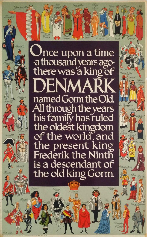Gorm The Old Family Tree Google Search Denmark Kingdom Of Denmark Travel Posters
