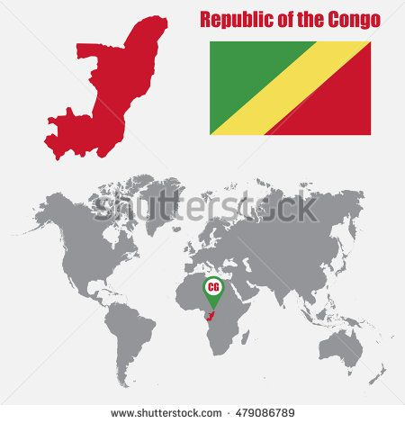 Pin by cristian chiriac on republic of the congo congo brazzaville bahrain map on a world map with flag and map pointer gumiabroncs Images