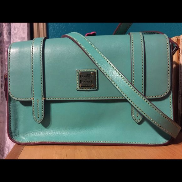 "Spotted while shopping on Poshmark: ""Dooney and Bourke turquoise cross body""! #poshmark #fashion #shopping #style #Dooney & Bourke #Handbags"
