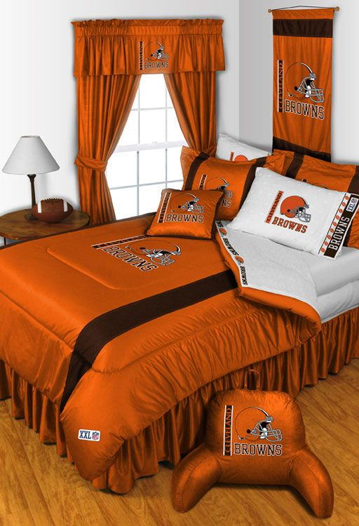 NFL Cleveland Browns Jersey Bedroom Collection