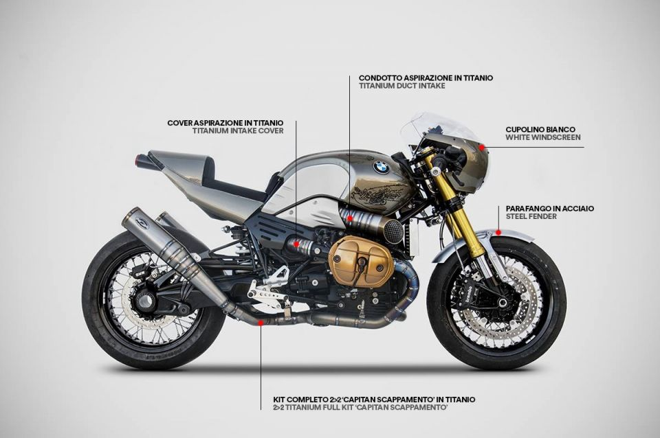 Zard Reveals Cool Exhaust Line For Bmw R Ninet мото Bmw Cafe