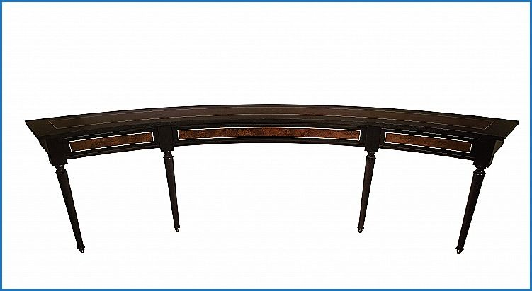 Elegant Curved Sofa Table For Sectional Http Countermoon Org
