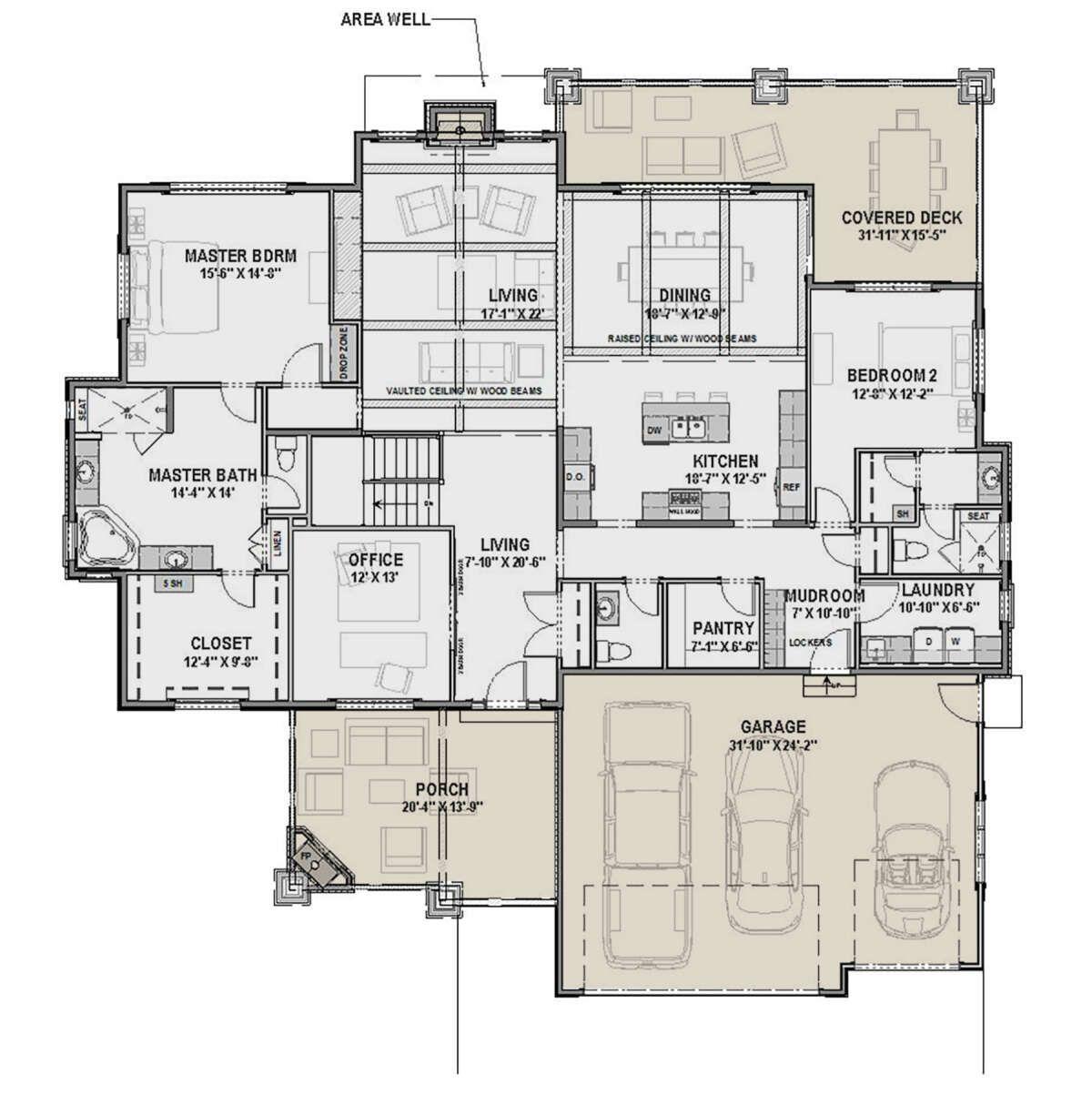 House Plan 425 00034 Craftsman Plan 2 556 Square Feet