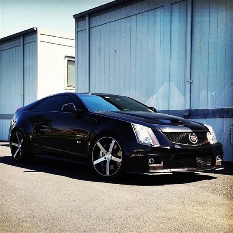 Cadillac CTS-V Coupe By Rovos Wheels. Click To View More