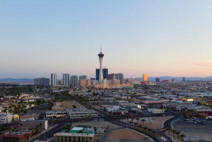 Las Vegas Skyline Nevada Las Vegas Flights Las Vegas City