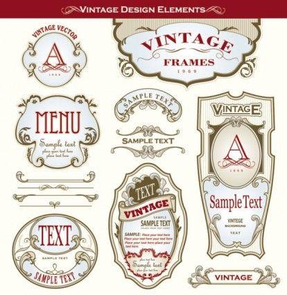Vintage Wine Style Labels Design Inspiration – Free Wine Label Design