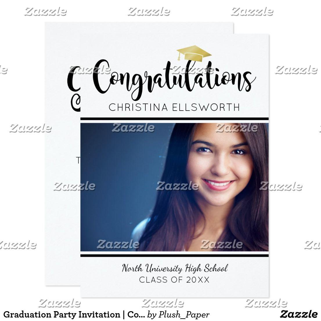 Graduation party invitation congratulations grad party invitations graduation party invitation congratulations grad filmwisefo