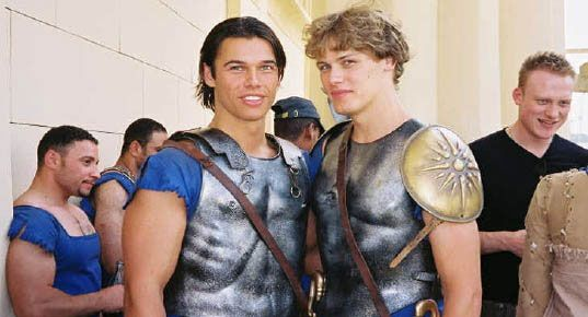 Before Jamie Sam Heughan Was Young Alexander The Great Sam