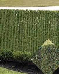 Privacy Slats For Chain Link Fences It Looks Like Green Christmas