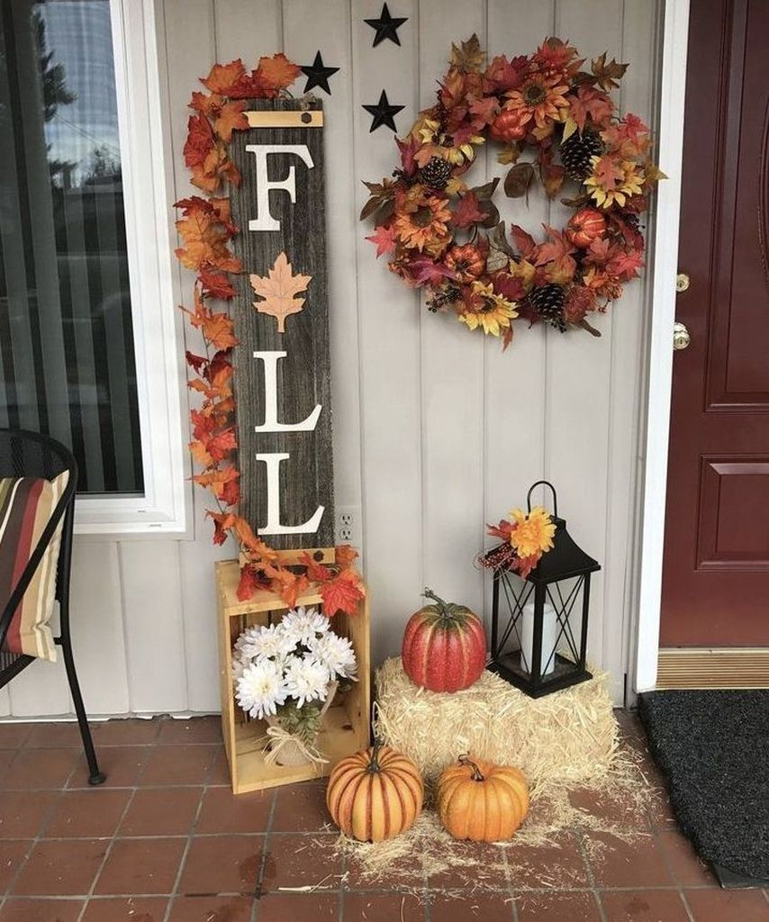 61 Most Beautiful Fall Decorating Ideas That Will Make More Perfect Home In This Fall #diyfalldecor