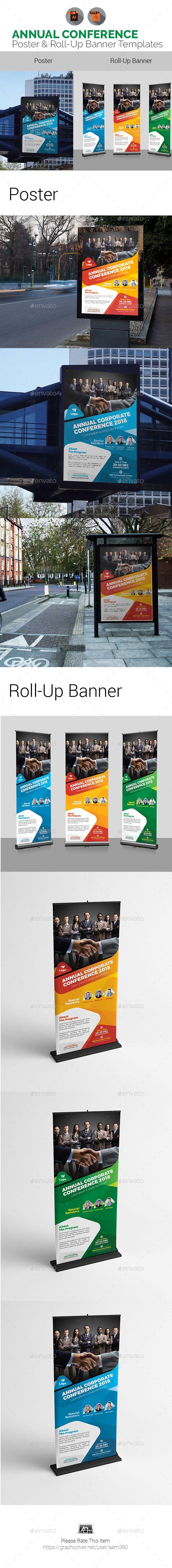 Annual Corporate EventConference Signage Bundle  Corporate