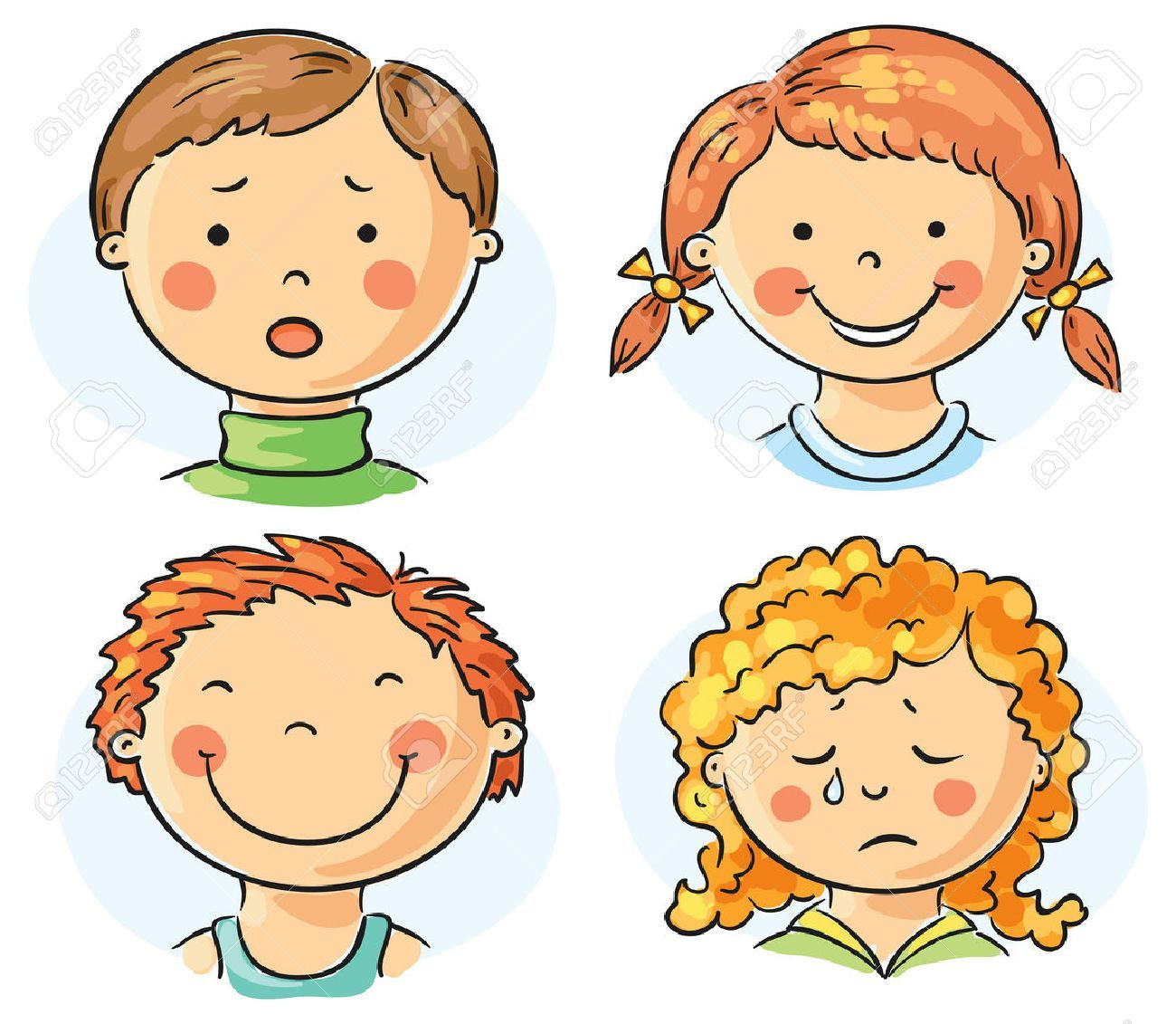 Resultat D Imatges De Dibujos De Emociones Cartoon Kids Different Emotions Kids Clipart