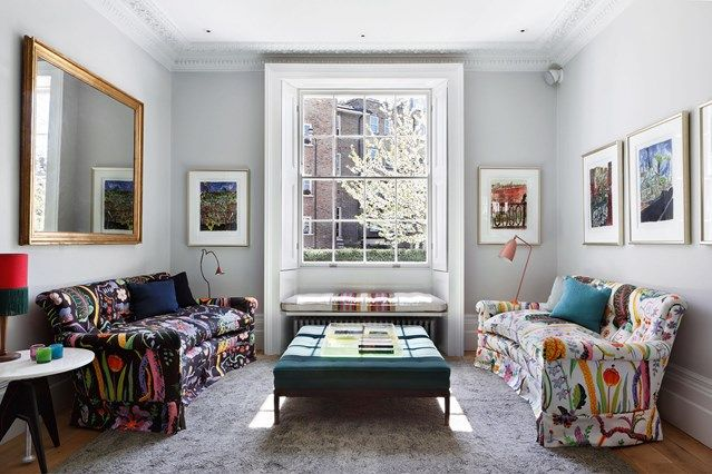 Groovy Modern Living Room Ideas Living Room Modern Floral Sofa Pdpeps Interior Chair Design Pdpepsorg