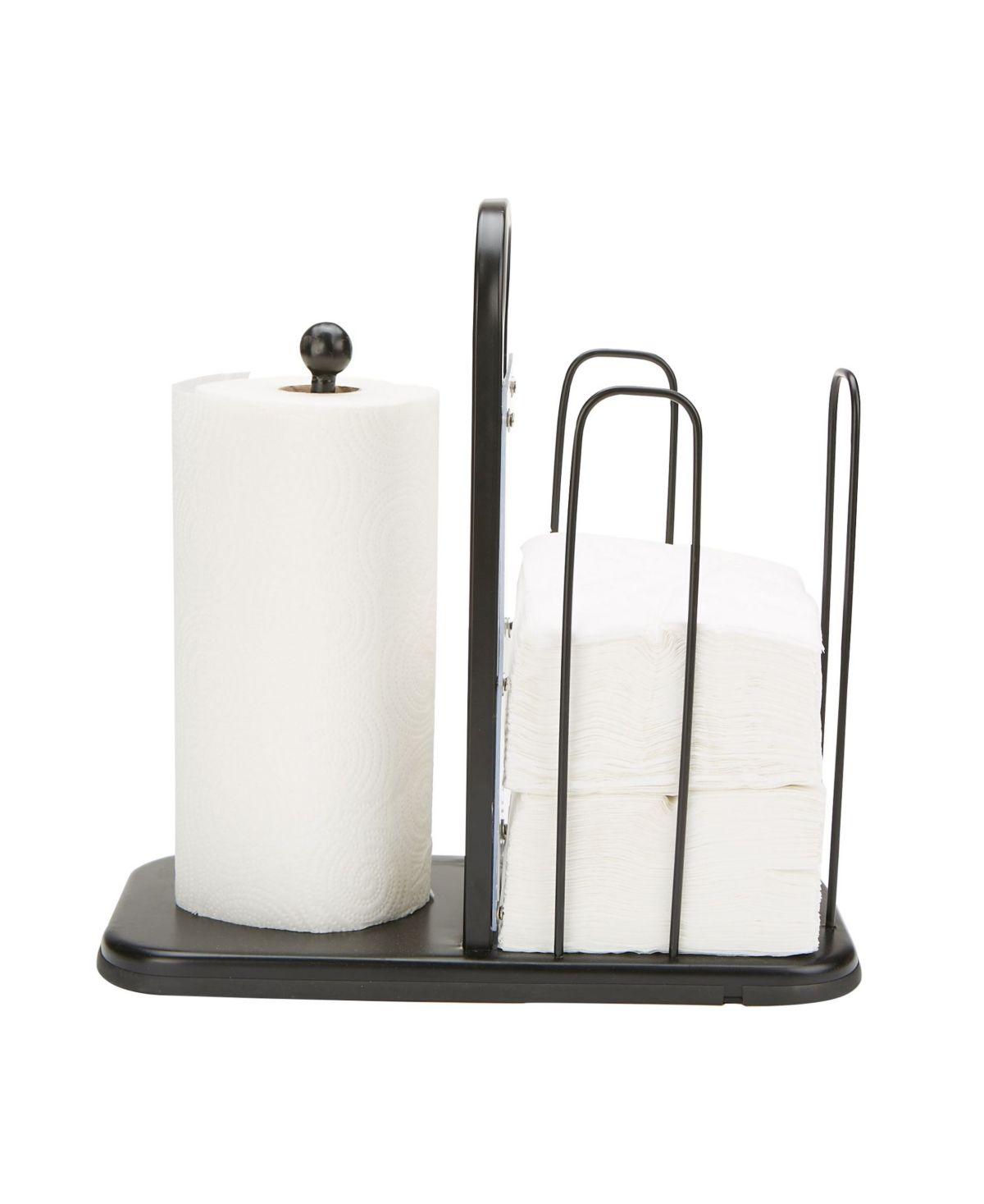Mind Reader Paper Towel And Napkin Holder Storage Organizer