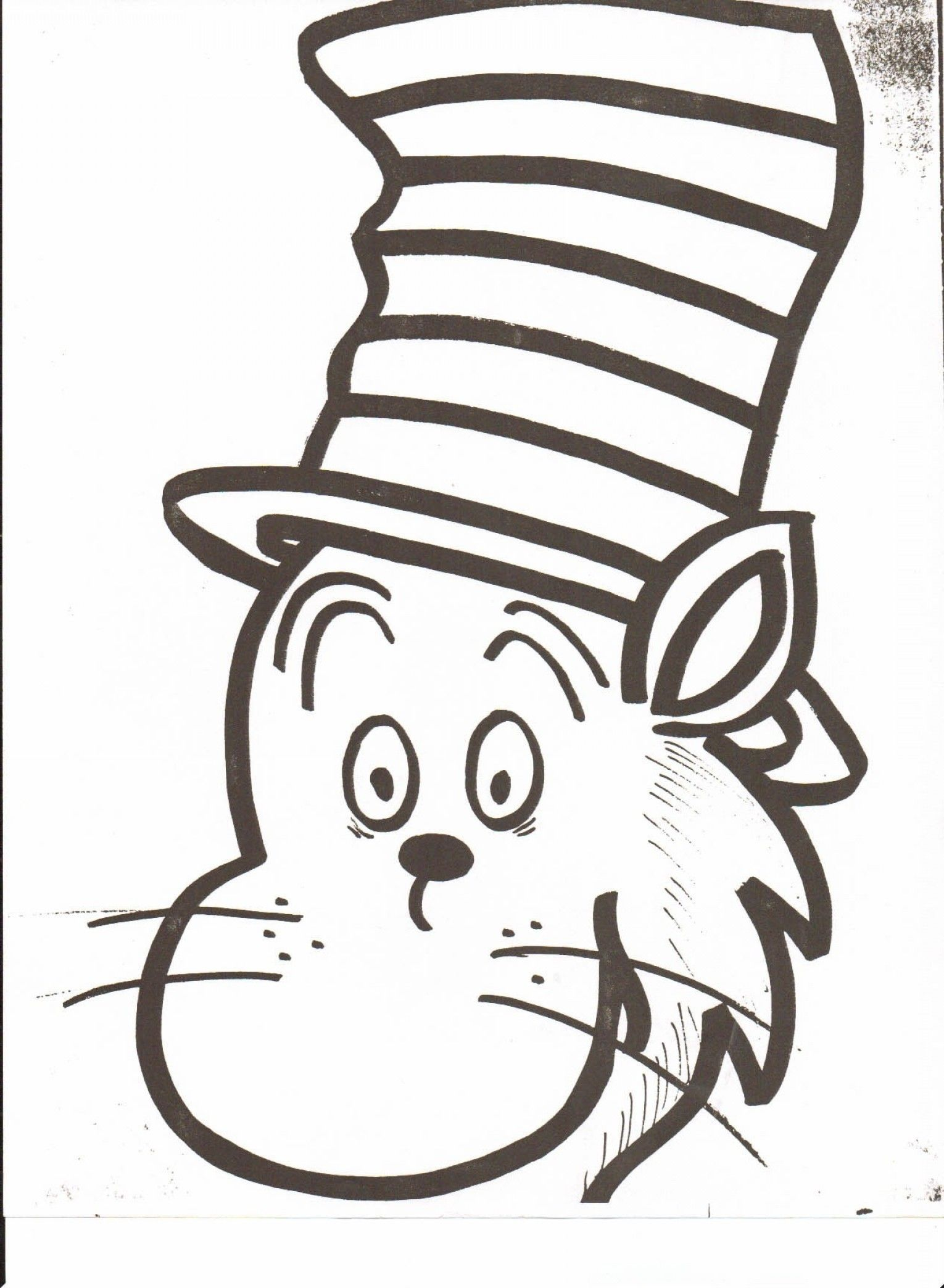 Cat In The Hat Coloring Pages New Dr Seuss Hat Coloring Page Download In 2021 Dr Seuss Coloring Pages Coloring Pages Cat Cat Coloring Book