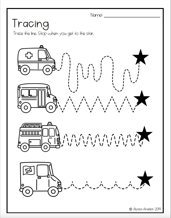 Tracing Worksheets Great For Distance Learning Tracing Worksheets Preschool Tracing Worksheets Preschool Tracing