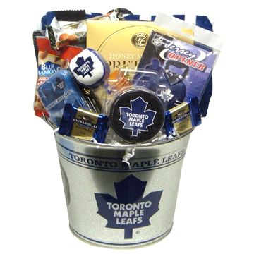 Toronto Maple Leafs NHL Gift Basket