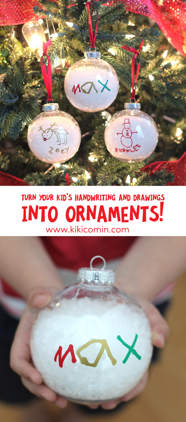 Ornament Challenge Giveaway and Turn your