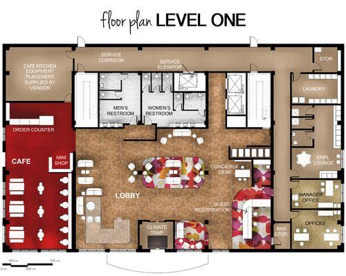 The Cafe Hotel First Floor Plan Hotel Floor Plan Hotel Floor Floor Plans