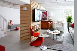 wentworth studio mobile  modern basement unfinished