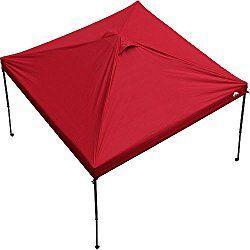 Ozark Trail 10' x 10' Gazebo Canopy Top - Red Color (Canopy