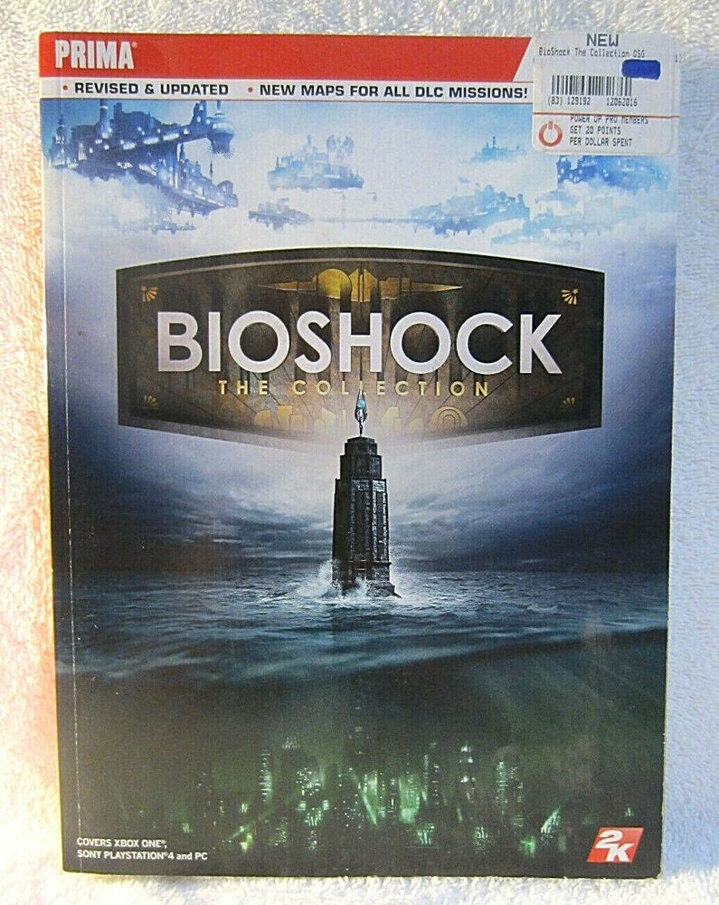 Bioshock the collection prima official guide by doug