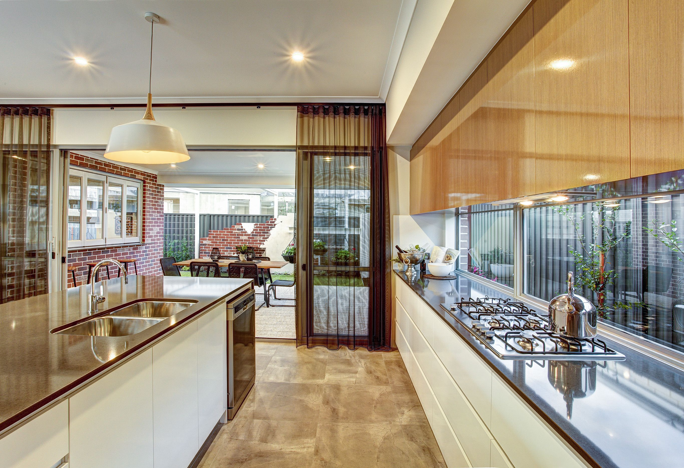 The Alkira display by Summit Homes WA. Beautiful kitchen space ...