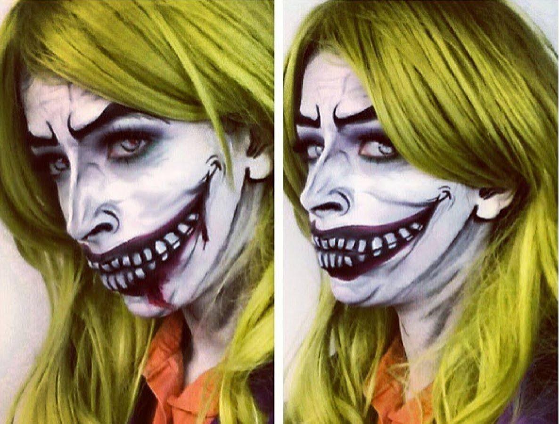 Halloween Makeup The Female Joker Makeup! joker