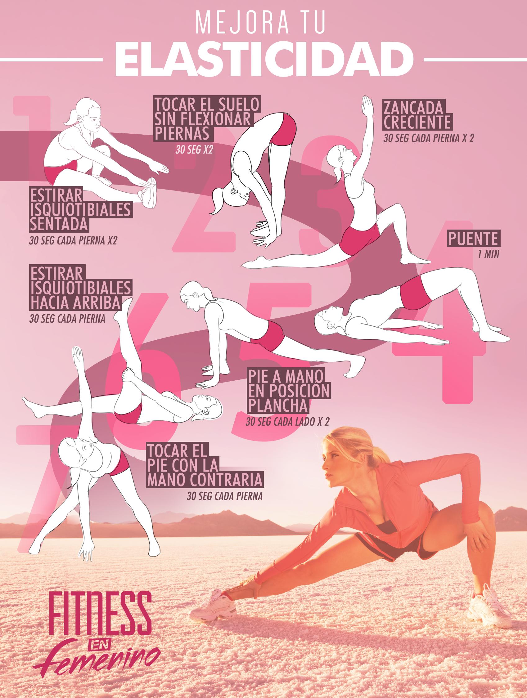 ejercicios para mejorar la flexibilidad isquiotibiales