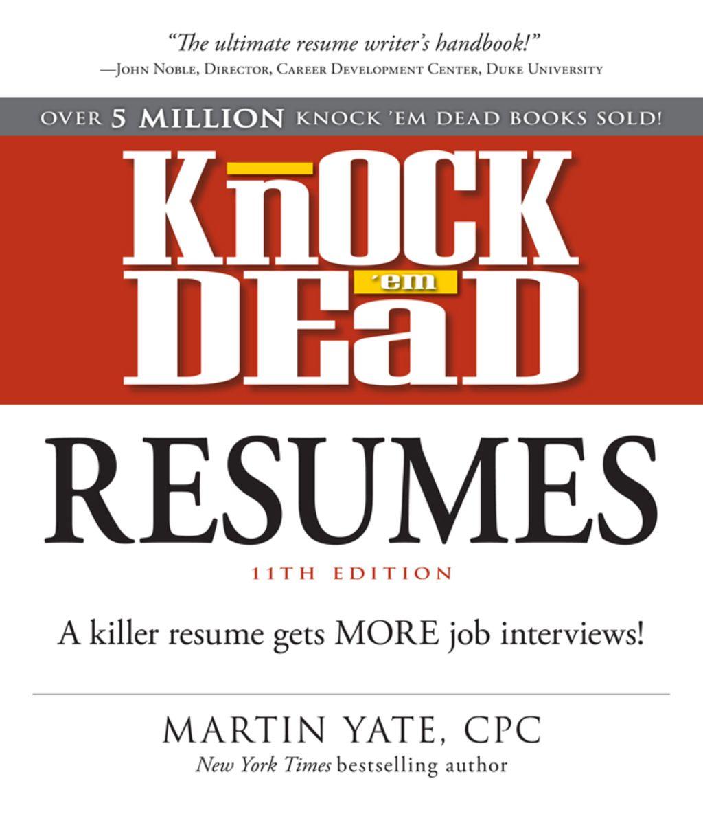 Knock Em Dead Resumes 11th Edition EBook