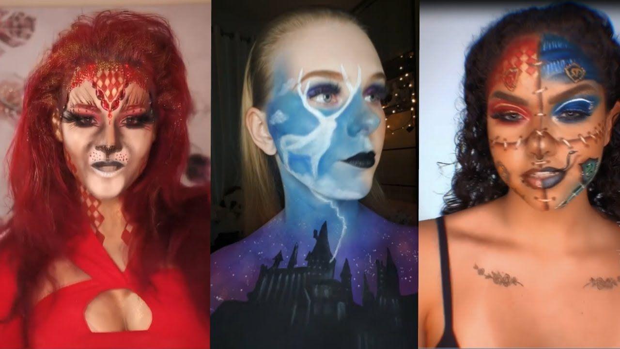 Harry Potter Tik Tok Makeup And Cosplay Challenge Trend Makeup Challeng In 2021 Harry Potter Makeup Harry Potter Fan Art Makeup Trends