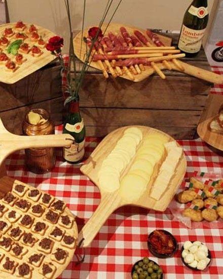 Idée Repas Italien DIY Anniversaire Enfant   Shake My Blog   Fête italien, Thème