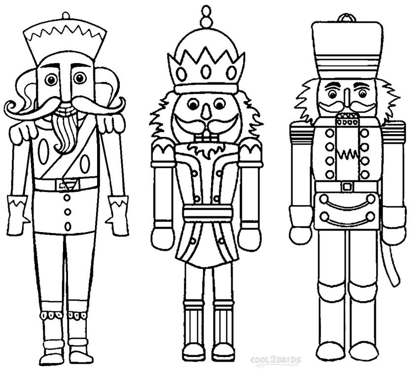 Printable Nutcracker Coloring Pages For Kids | Cool2bKids | Noel en ...