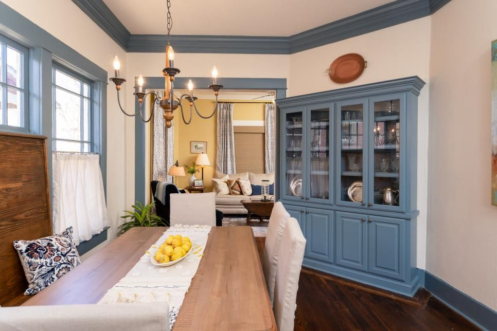 Home Town A Bungalow In Blue Home Town Hgtv Home Town Hgtv Hgtv Kitchens Home
