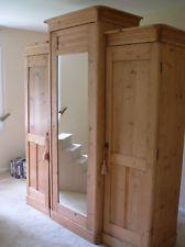 Antique English Pine Armoire