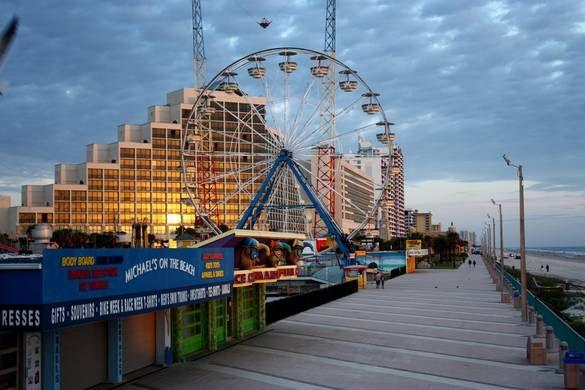 Daytona Boardwalk Daytona Beach Boardwalk Daytona Beach Hotels Florida Family Vacation