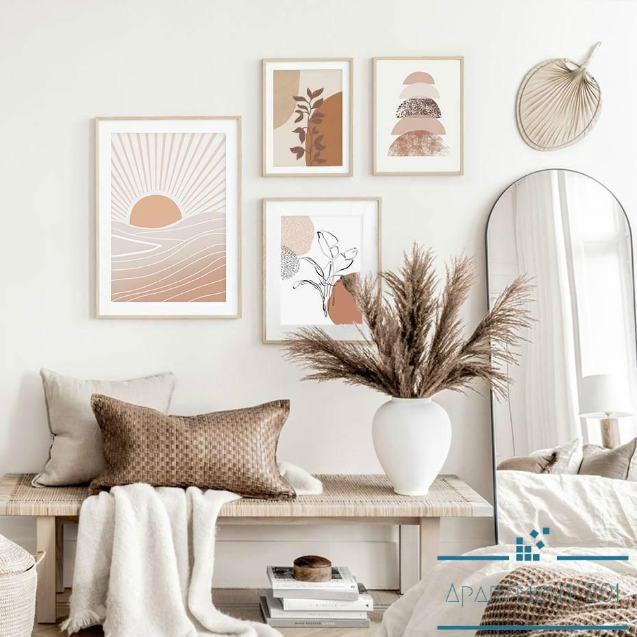 Displaying abstract pastel themes we have found the fine details in our Bohemian Pastel Vista Canvas Wall Art would inspire an imaginative essence to any modern wall decor setting. Choose from 4 unique pieces or purchase a full collection of this subtle small wall art set.