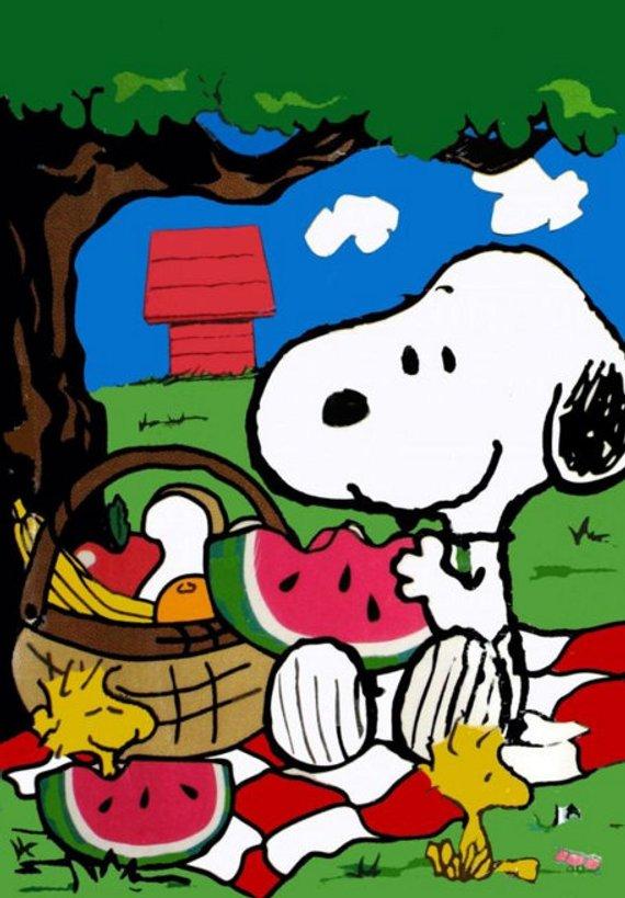 PEANUTS ♡ Snoopy ♡ Watermelon  ♡ Magnet ♡